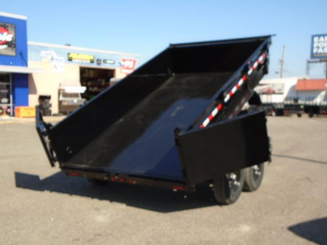 2020 PJ 7x12 14K Dump with 10K Jack/Tarp Kit