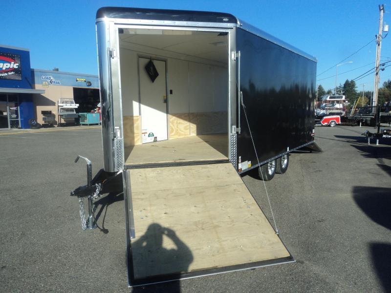 2020 Cargo Mate Snowbird 8.5x20 7K Snowmobile Trailer