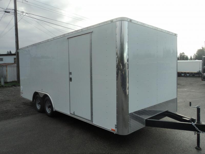 2021 Cargo Mate E-Series  8.5X20 7K w/Rear Ramp Door