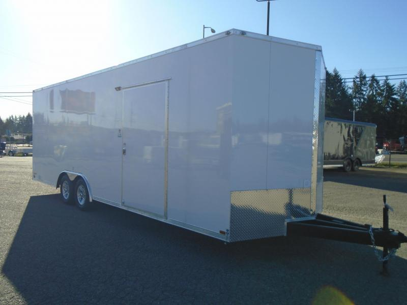 "2020 Cargo Mate 8.5X24 10K Race Trailer with Finished Interior/12""+ Extra Height"
