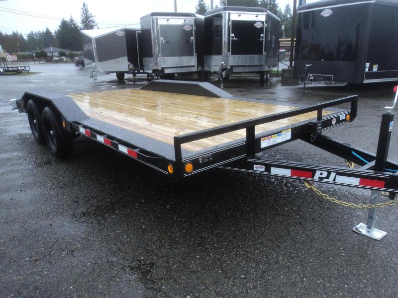 2020 PJ B5 8.5X18 10K Channel Buggy Hauler w/Dovetail