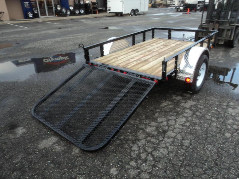 2020 PJ Trailer 5x8 w/Fold In Gate