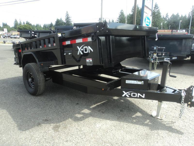 2020 X-On 5X10 5K Dump Trailer w/Tarp Kit/Ramps++