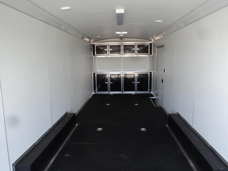2020 Cargo Mate 8.5x28 12K with Car Hauler package
