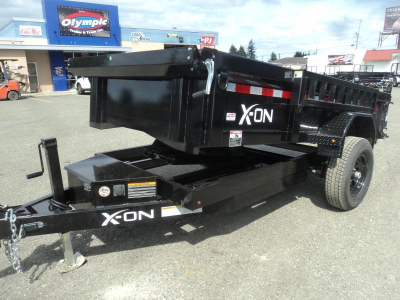 2020 X-On 5X10 5K Dump Trailer w/Tarp Kit/Ramps++