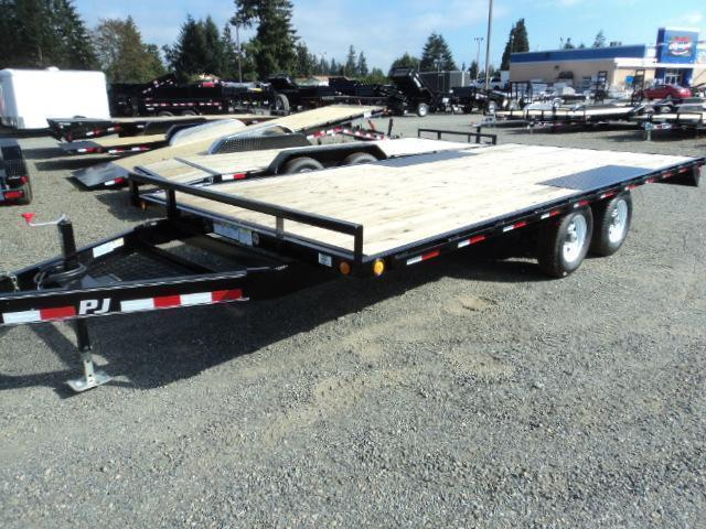 "2020 PJ 8.4X18 10K Deckover 6"" Channel Trailer"