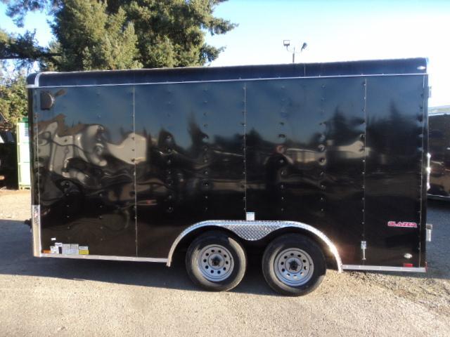 2020 Cargo Mate Blazer 8.5x14 7K with Rear Cargo Doors