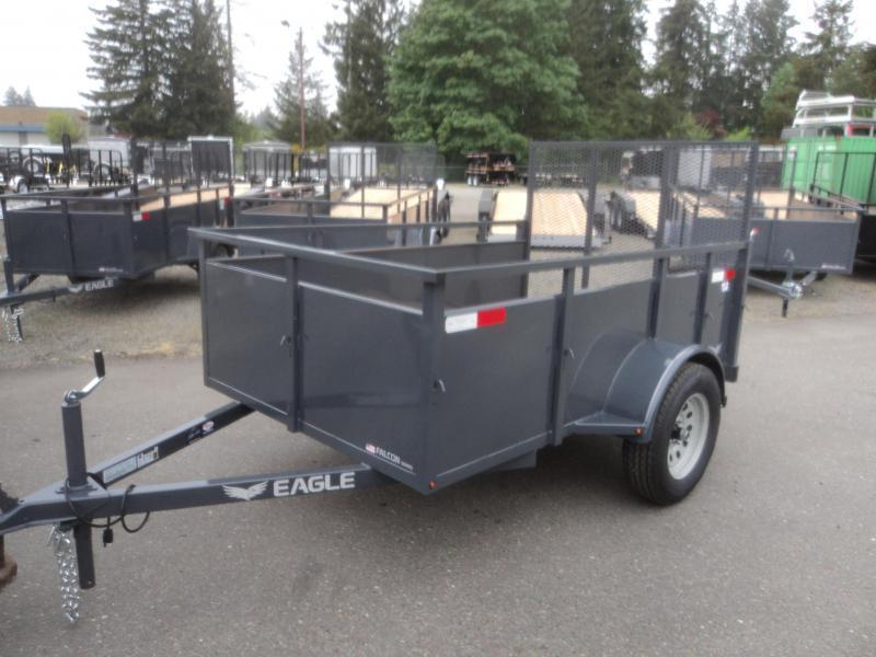 2020 Eagle Falcon 5x8 Utility Trailer