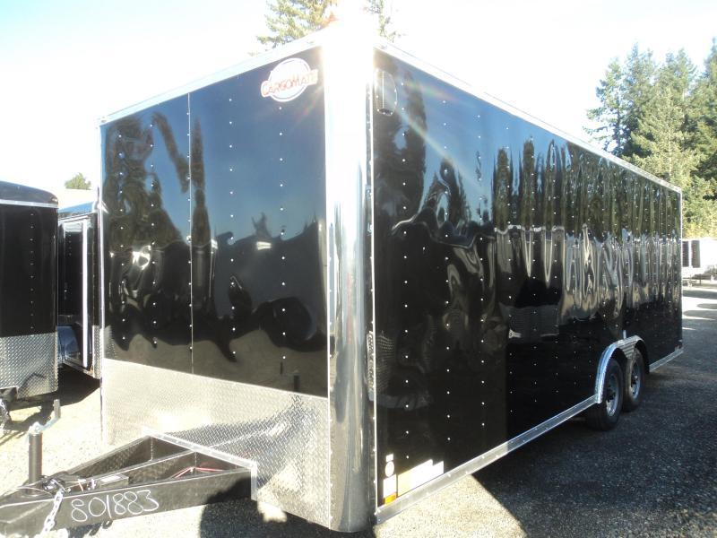 """2020 Cargo Mate E-series 8.5x24 10K w/6"""" Additional Height/D-rings"""