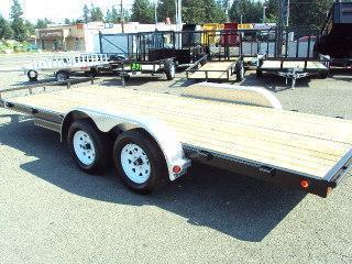 2020 PJ Trailers 7x14 7K Car / Racing Trailer