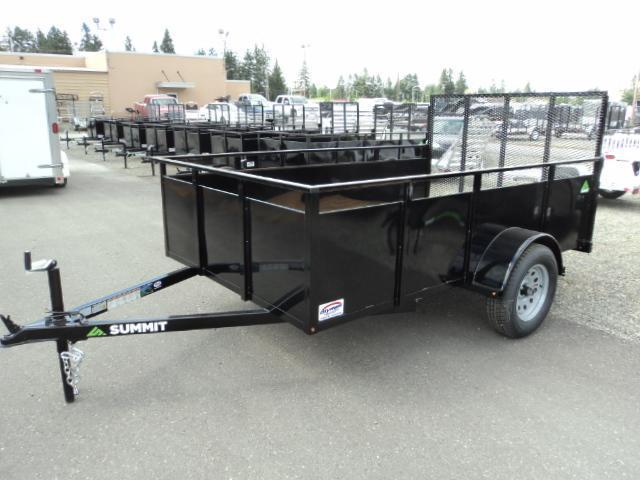 2021 Summit Alpine 6x12 Single Axle Utility Trailer