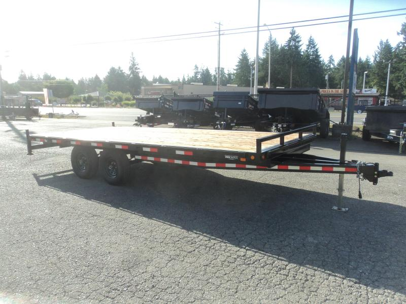 2017 Iron Eagle T10K18-EE Deckover Flatbed Trailer