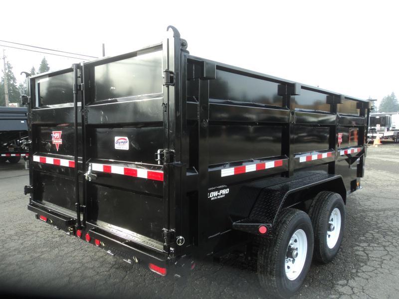 2020 PJ 7x14 14k High Side Dump w/4ft Sides/10K Jack/Tarp Kit