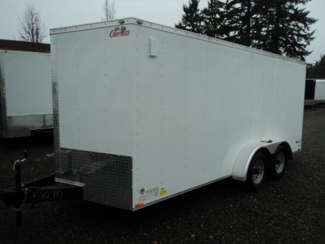 2020 Cargo Mate E-series 7x16 7K Wedge w/Rear Ramp Door