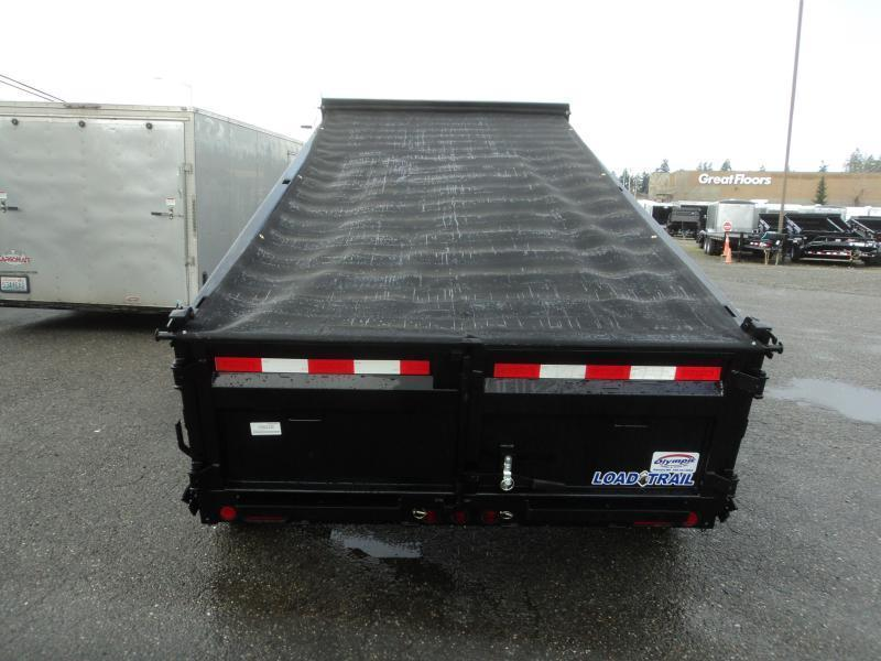 2020 Load Trail 6X12 10K w/Rapid Charger/Tarp Kit/Ramps