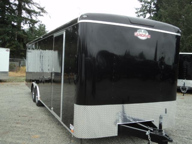 2020 Cargo Mate Blazer 8.25X26 10K w/Spare Tire/6+ Height/Ramp/D-rings++