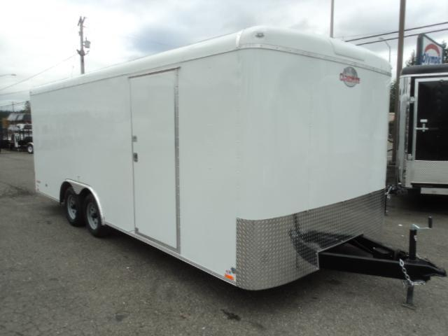 2020 Cargo Mate Blazer 8.5x24 10K w/Spare Tire/Escape Door/5K Tie Downs/Ramp Door