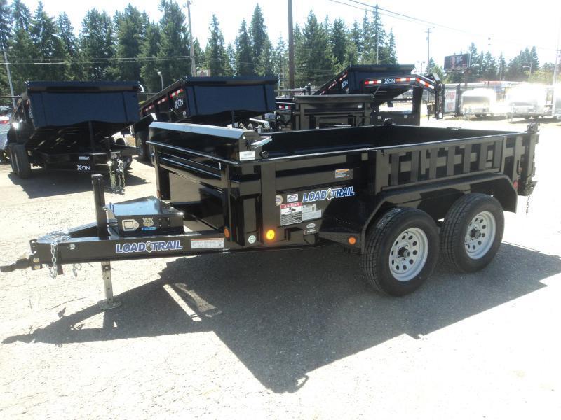 2020 Load Trail 6x10 7K Dump w/Tarp kit/Rapid Charger/Ramps