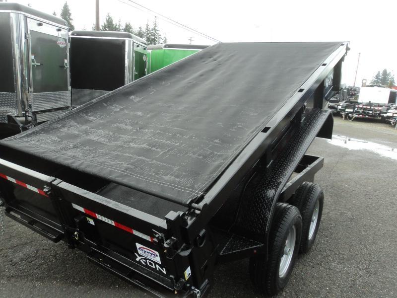 2020 X-On 6X12 10K Dump Trailer w/Tarp Kit/Ramps++
