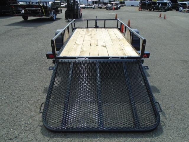 2020 PJ E6 5x10 Utility Trailer with Drop Down Gate