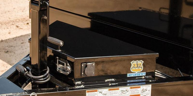 2020 Load Trail 7X16 14K Dump w/Tarp Kit/Rapid Charger/Scissor Lift