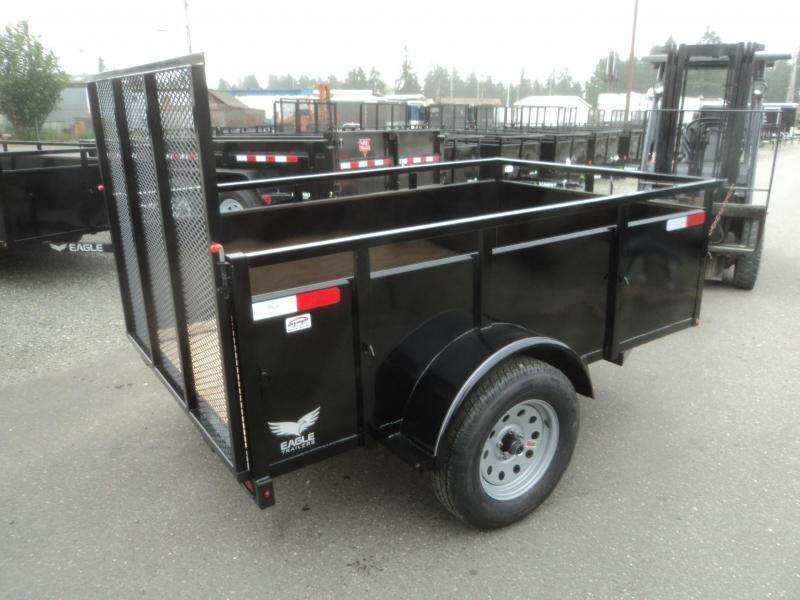 2020 Eagle Falcon 4x8 With Swing Jack/D-rings