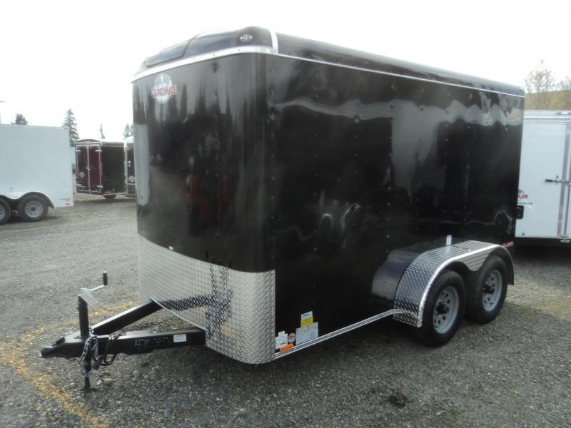2020 Cargo Mate Blazer 6X12 7K Tandem Axle w/Rear Ramp Door