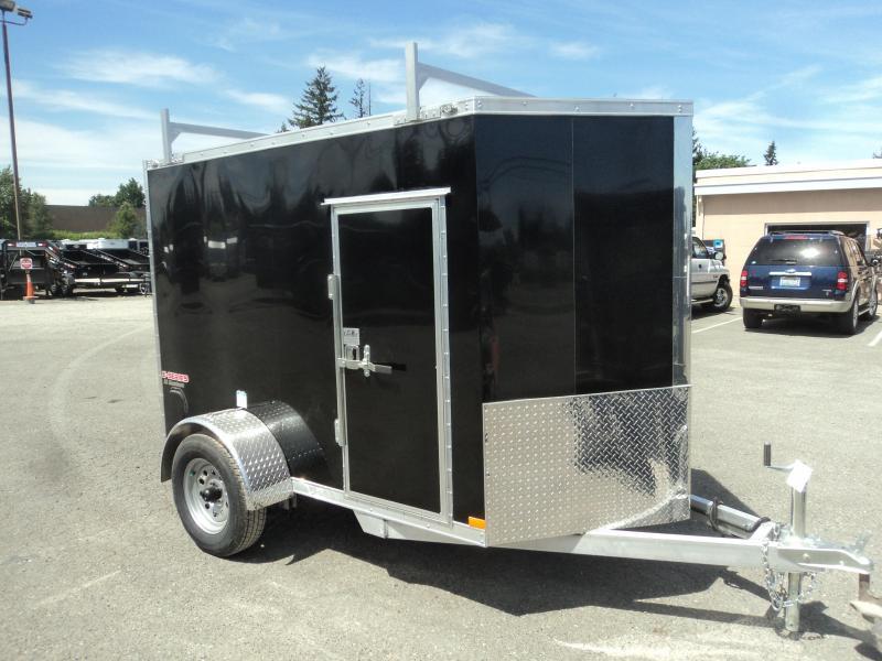 2020 Cargo Mate Aluminum 5x8 E-series Enclosed Cargo Trailer