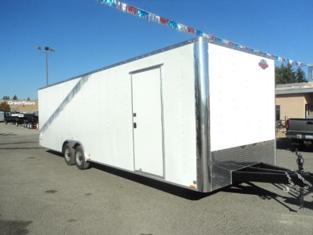 2020 Cargo Mate E-series 8.5x24 10K w/5K D-rings/Escape Door/Extra Height Enclosed Cargo Trailer