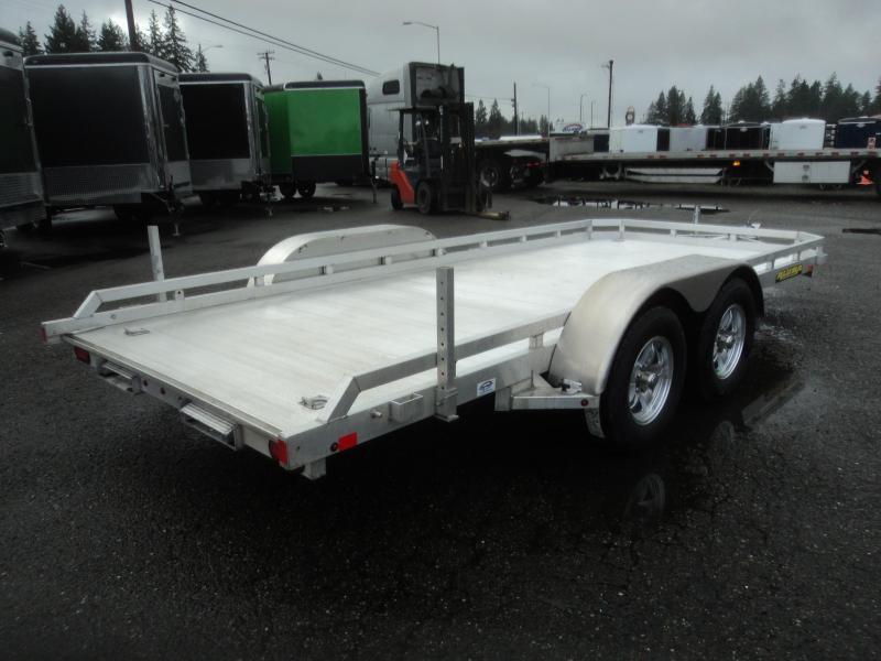2021 Aluma 7818R 6.5x18 7K Utility Trailer