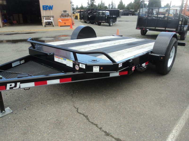 2020 PJ 13' Single Axle 7K HD Tilt w/Blackwood Traction Strips