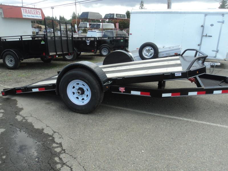 2020 PJ 13' Single Axle 7K HD Tilt w/Blackwood Traction Strips