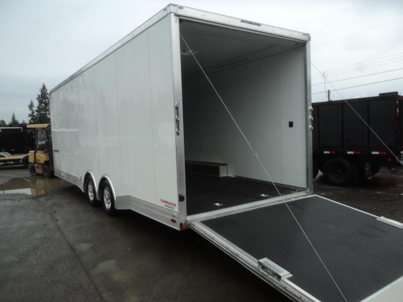 2020 Cargo Mate Aluminum 8X26 Car / Racing Trailer