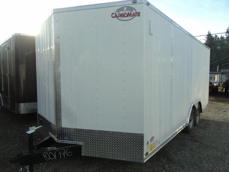 2020 Cargo Mate E-Series 8.5X18 7K w/Rear Ramp