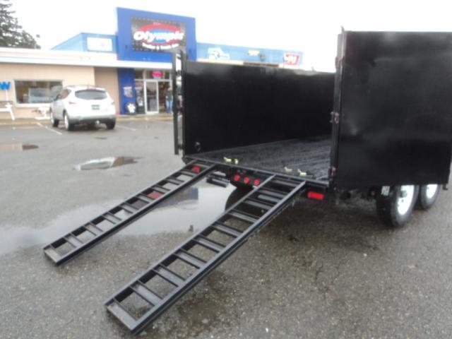2020 PJ Trailers 7x14 High Side Dump w/4ft Sides/10K Jack Upgrade/Tarp Kit