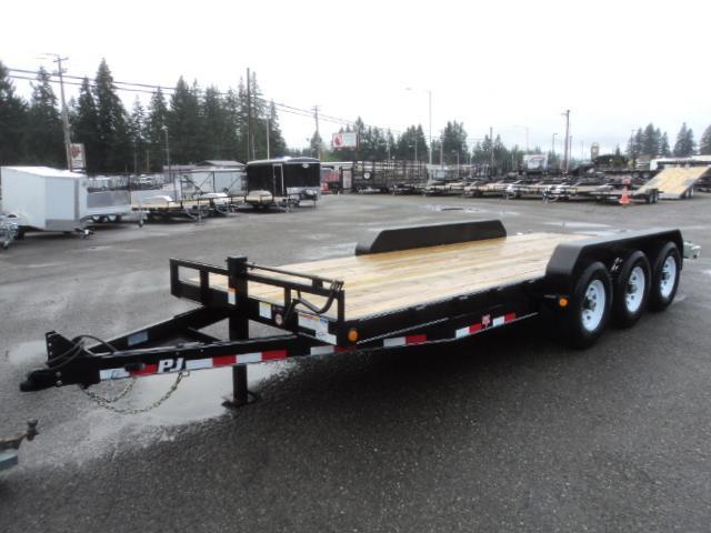 "2020 PJ 7x20 21K 6"" Channel Equipment Trailer"