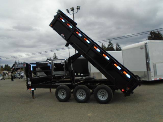 2020 Load Trail 7X16 21K Gooseneck Dump With Scissor Lift/Tarp Kit/Ramp[s