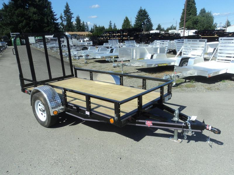 2020 PJ 5x10 Utility w/Fold up Gate