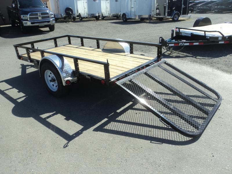 2020 PJ 5x10 Utility w/Fold up Gate