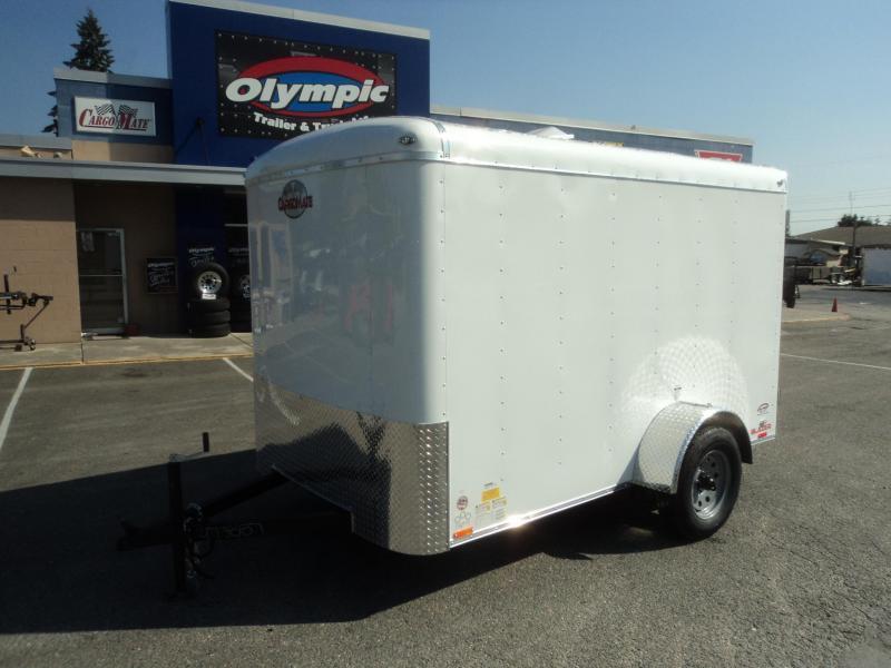 2020 Cargo Mate Blazer 6X10 w/Rear Ramp Door