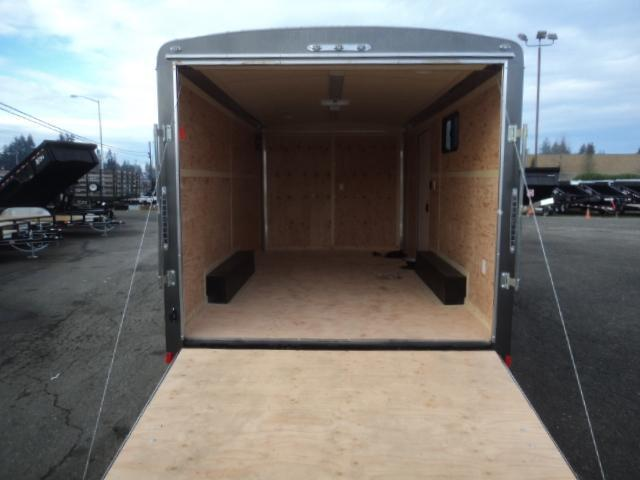2020 Cargo Mate Blazer 8.5x16 7K w/110 Volt Package/Extra Height/Window/and Ramp Door