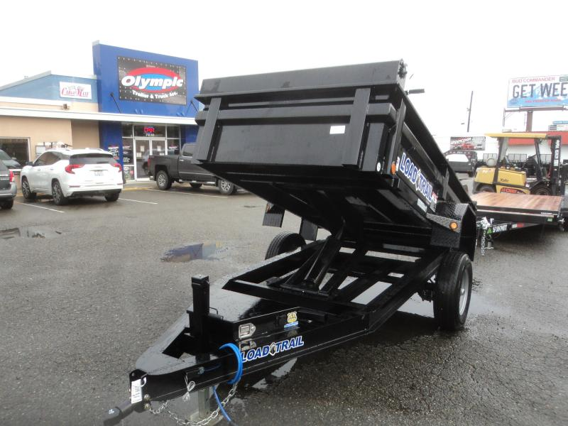 2020 Load Trail 5X10 5K w/Tarp kIt Single Axle Dump