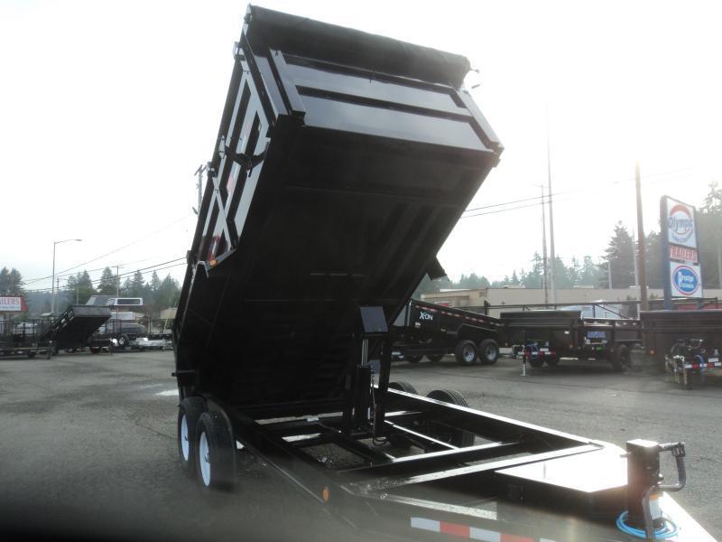 2020 PJ 7x14 14k High Side Dump w/4ft Sides/10K Jack Upgrade/Tarp Kit