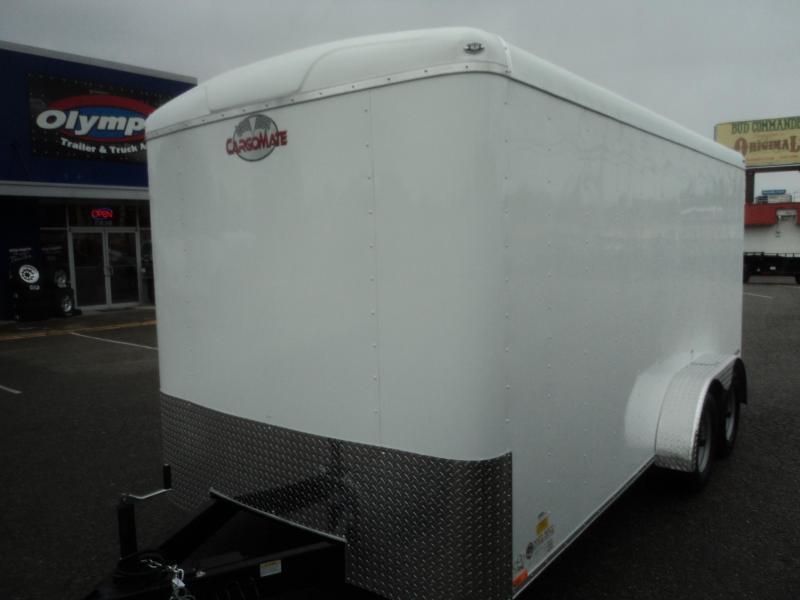 "2020 Cargo Mate Blazer 7X16 7K w/Rear Ramp Door and 6"" Extra Height"