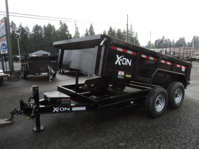 2019 X-On 7x16 14K Dump Trailer w/Tarp Kit/Ramps++