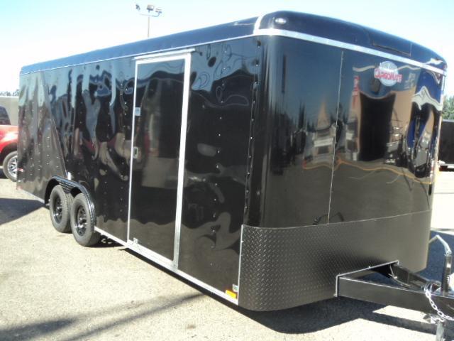 2020 Cargo Mate Blazer 8.5x20 7K  w/Extra Height/Matte Black Package/Wheel Upgrade