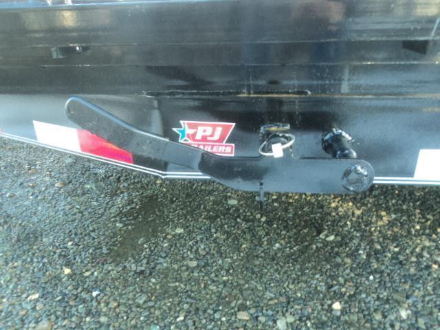 "2020 PJ 7x20 14K  6"" Channel Equipment Tilt Trailer w/Spare Tire"