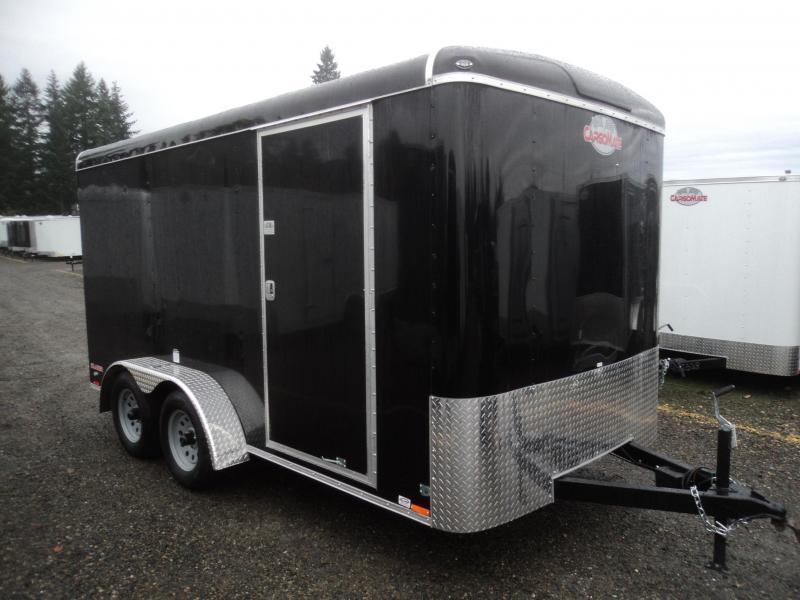 "2020 Cargo Mate Blazer 7x14 7K w/6"" Extra Height/Rear Ramp Door"