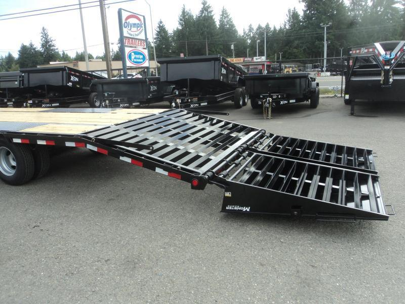 2020 PJ 8.5x40 Low Pro Flatdeck with Duals and Monster Ramps