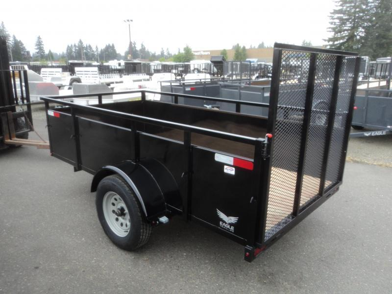 2020 Eagle Trailer Falcon 5x10 With Swing Jack Utility Trailer